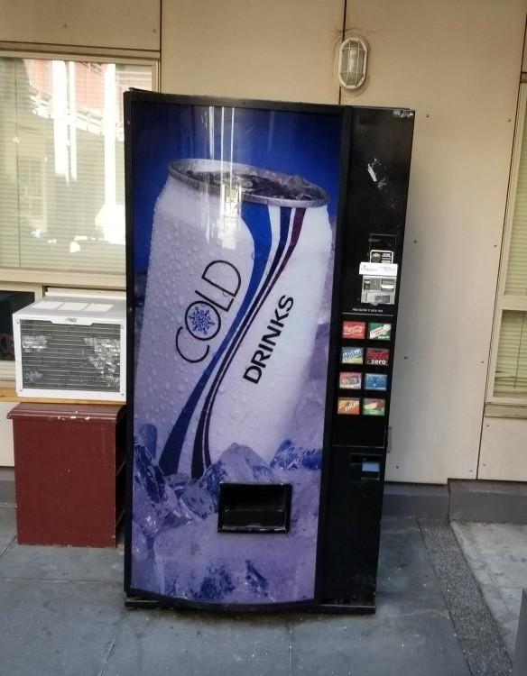 simple no nonsense soda pop machine
