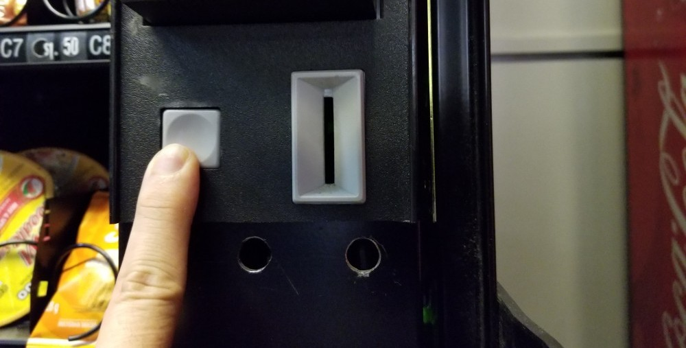 coin return button