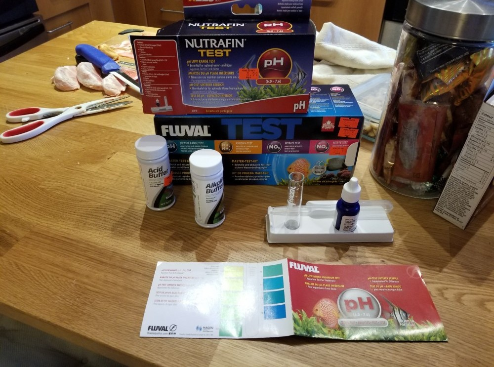 pH Test Kit in my home
