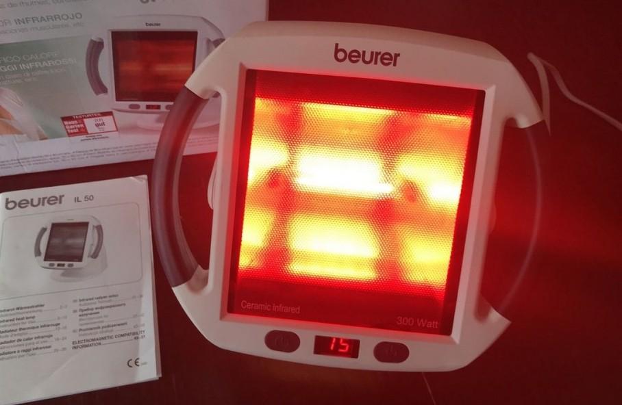 Beurer heat lamp