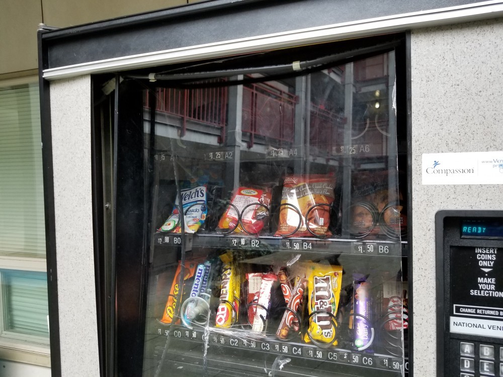 vending machine break in
