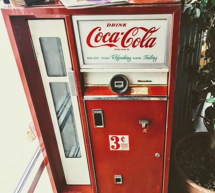 1970's vending machine