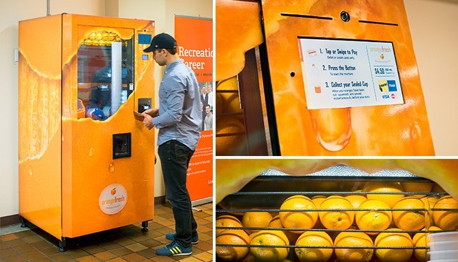 The Demise Of The Orange Vending Machine Vending Business Machine