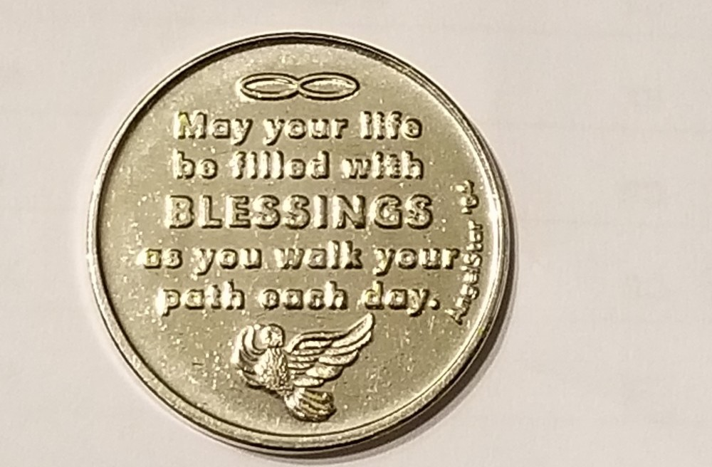 foreign coin that got stuck inside vending machine
