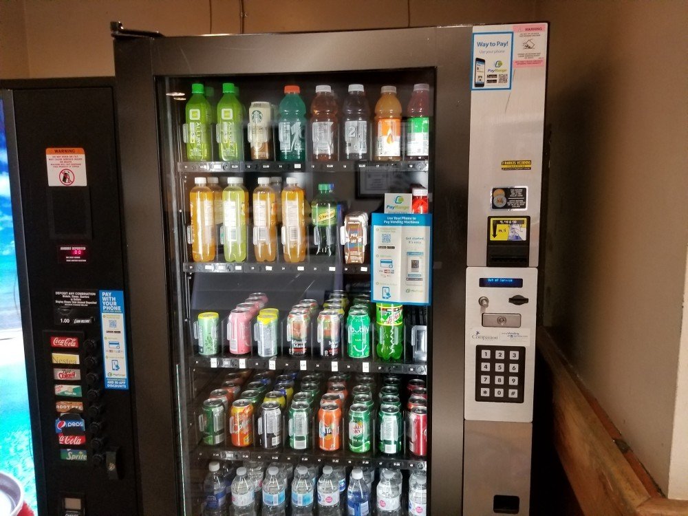 vending machine in one of my locations