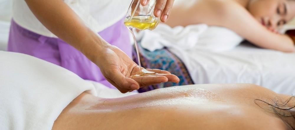 deep tissue massage at work