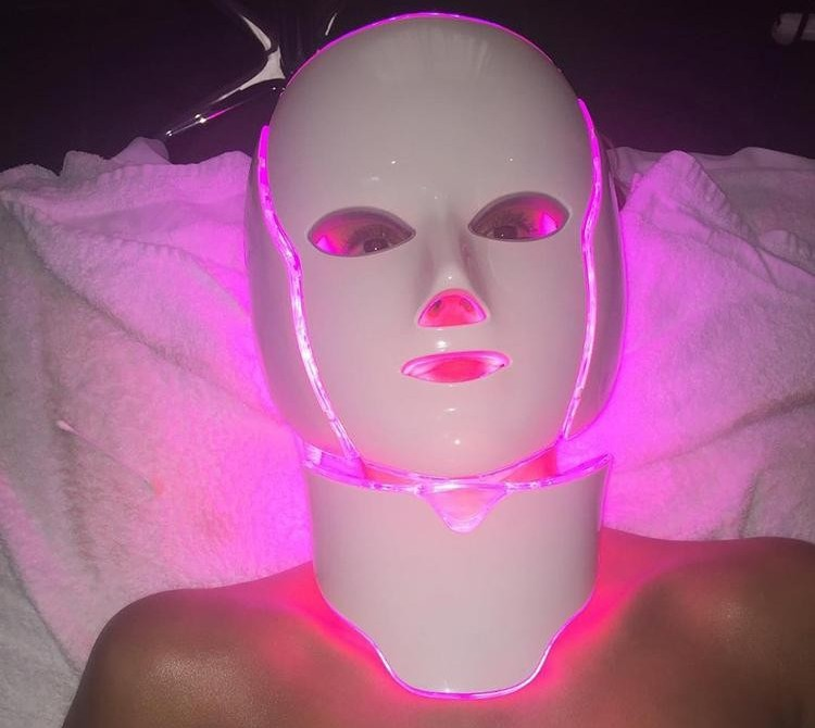 LED Face Mask device