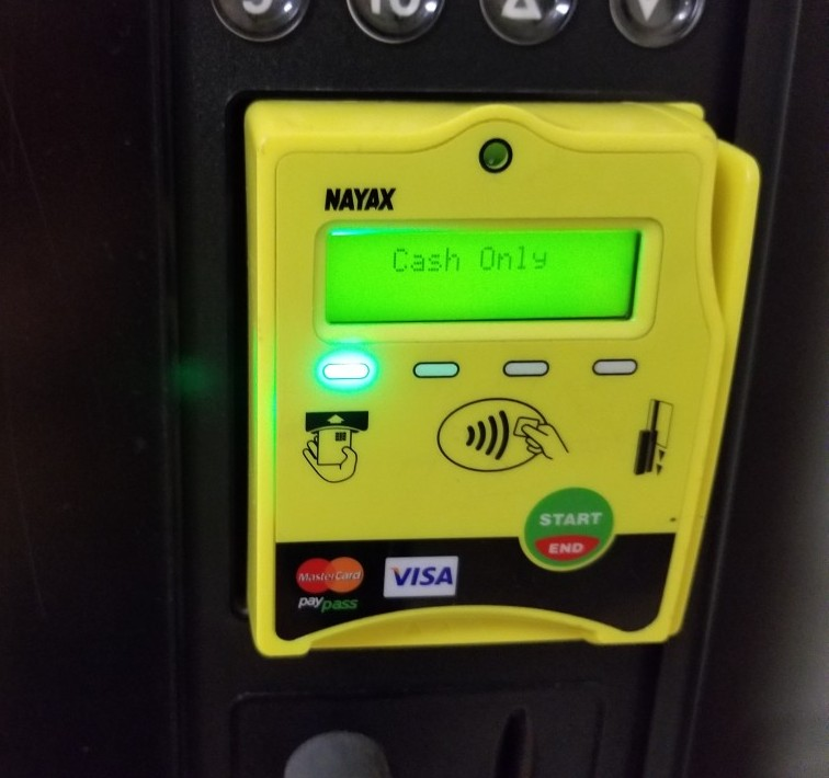 debit credit card reader device