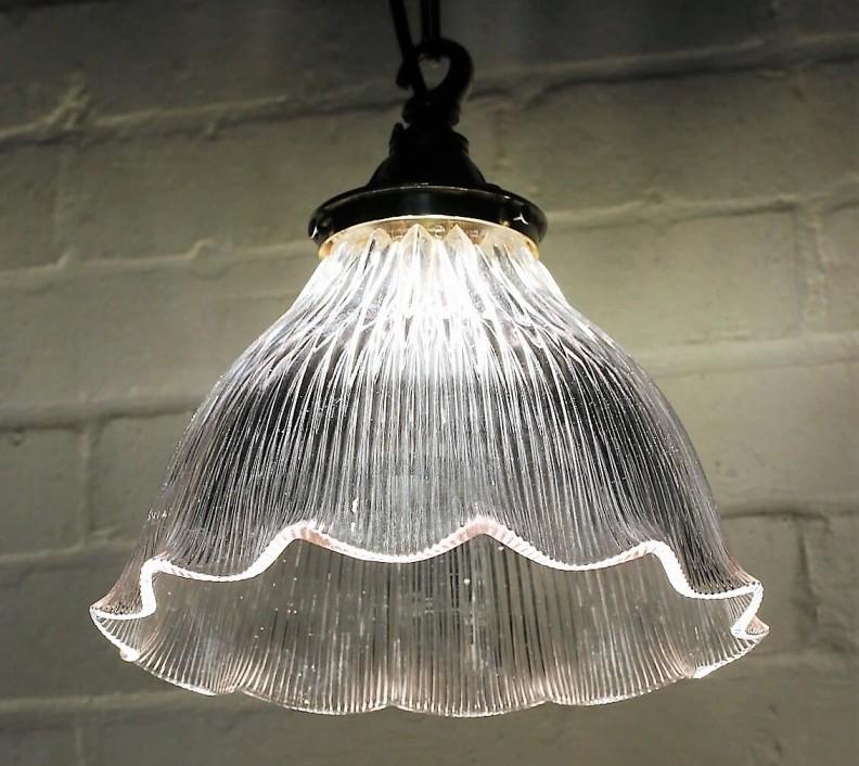 Holophane lampshade