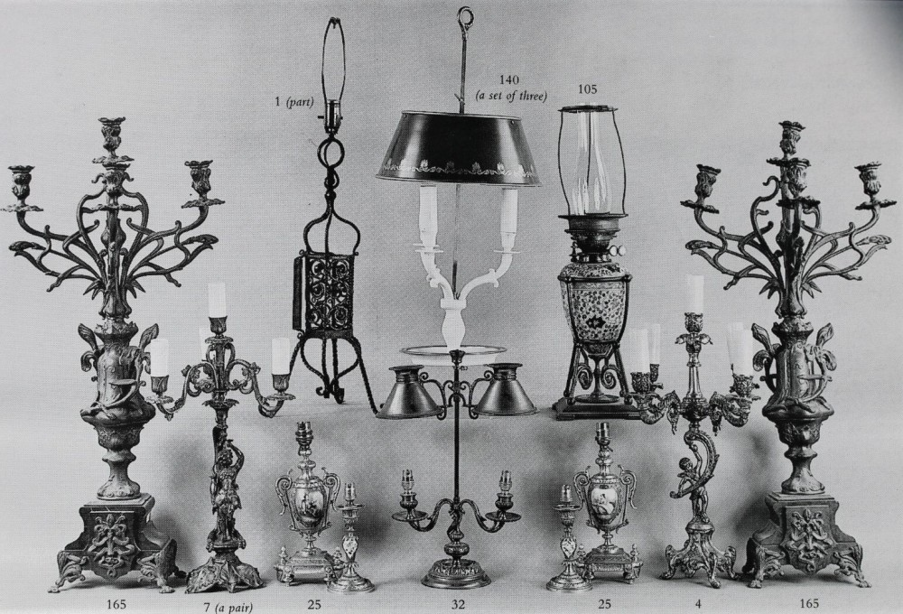 Art Nouveau Lighting examples