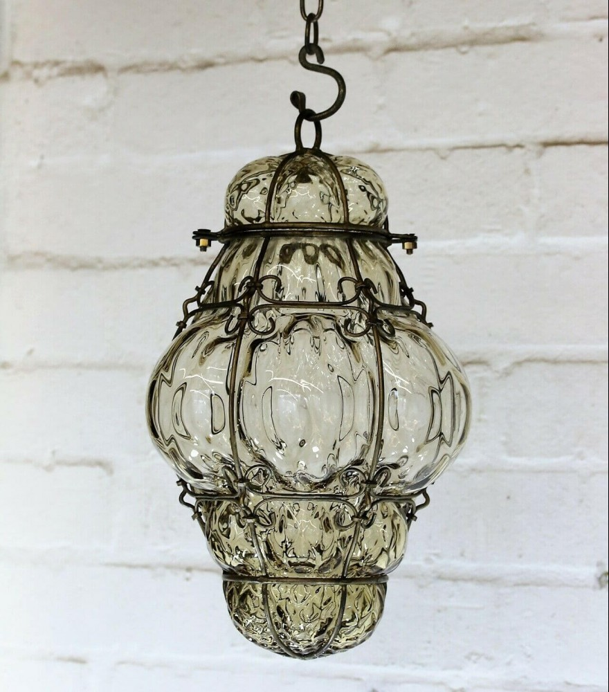 Antique Blown Glass Lighting