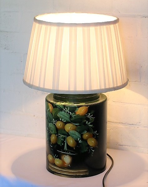 homemade table lamp