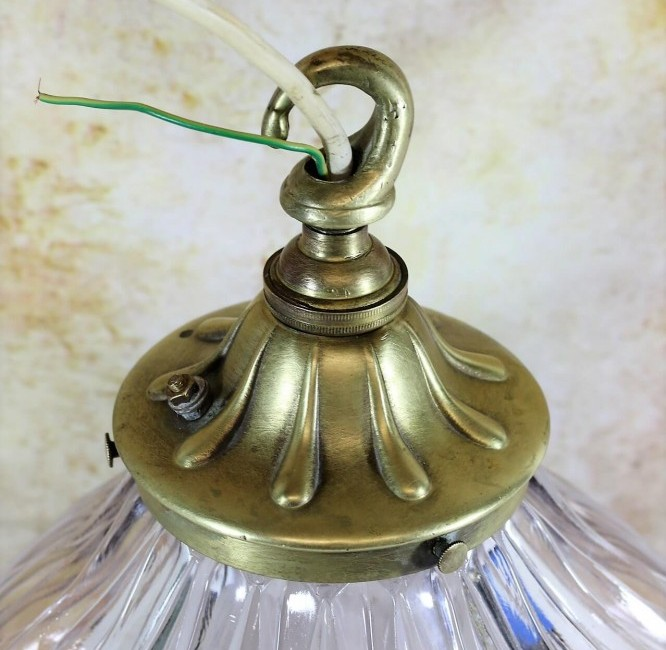 Vintage Holophane lampshade