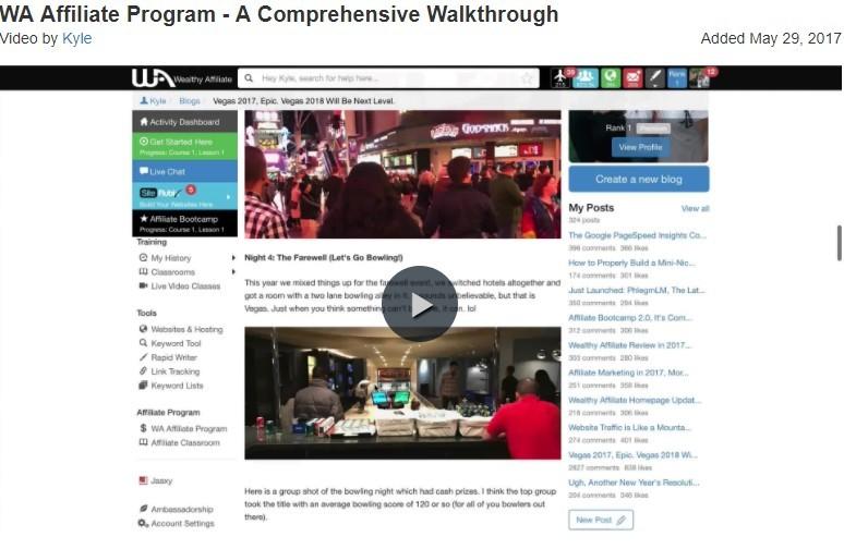WA Affiliate Program - A Comprhensive Walkthrough
