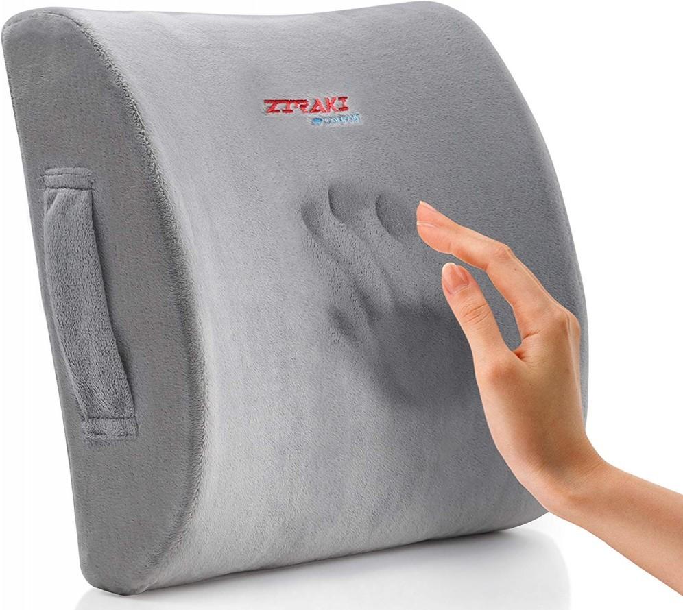 Lumbar Support Memory Foam Seat Cushion