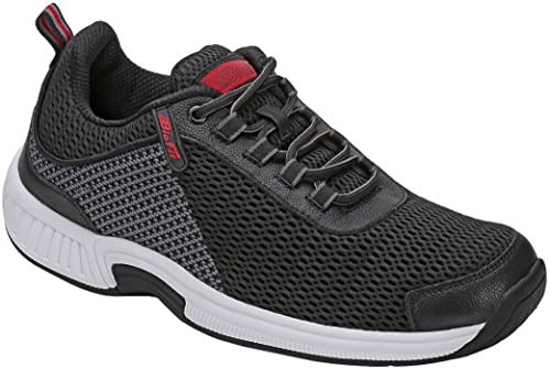 Orthofeet Orthopedic Men's Diabetic Walking Shoe Sneakers