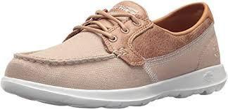 Skechers Women's Go Walk Lite - Coral Boat Shoes