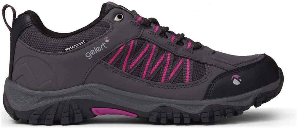 Gelert Women's Horizon Low Waterproof Lace Up Walking Shoes