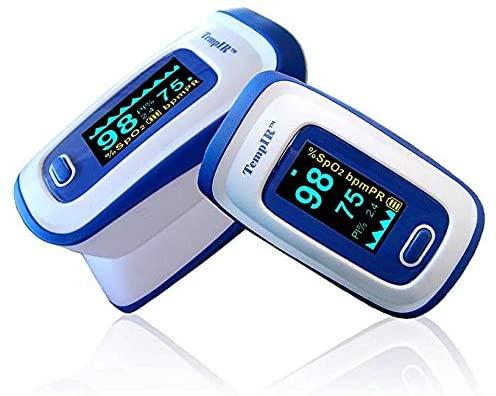 TempIR Deluxe Finger Pulse Oximeter