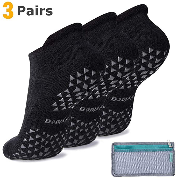Hylaea Mens Anti Skid Comfortable Slipper Socks