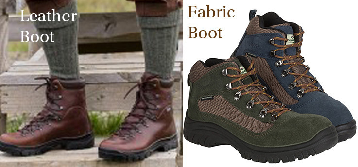 What is best for you a fabric waterproof boot or leather waterproof boot ?