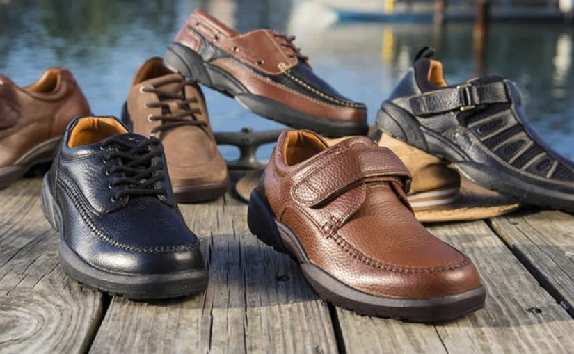 Differences between normal shoes and diabetic shoes for men
