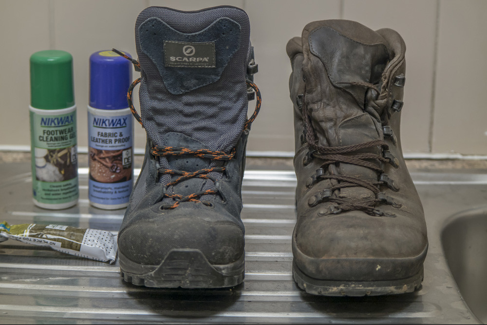 How to reproof your fabric and leather waterproof boots for men