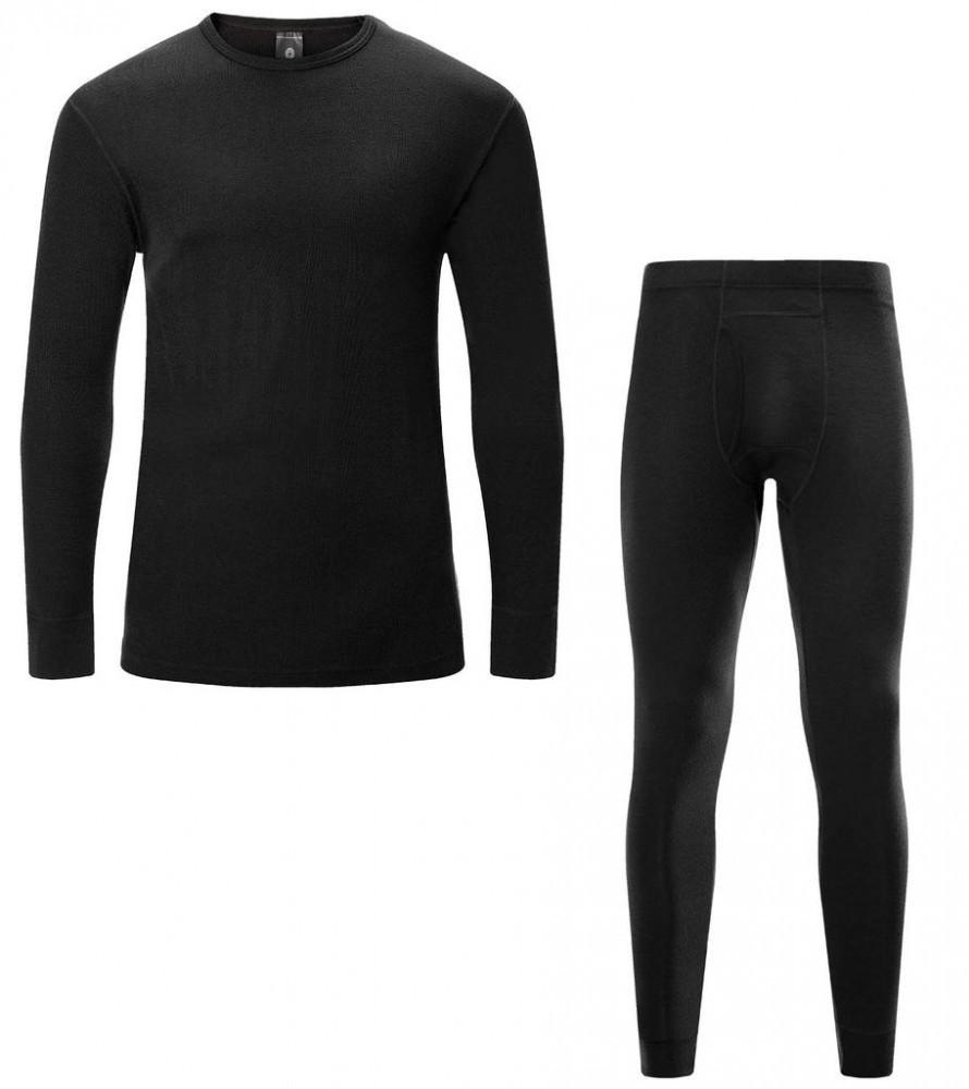 LAPASA Mens 100% Lightweight Long Sleeve Merino Wool Base Layer Underwear
