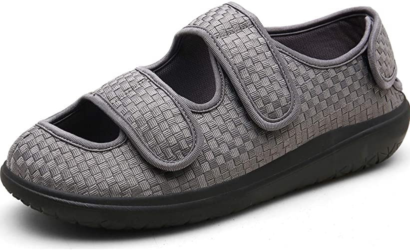 Women's Extra Wide Fit Orthopaedic Diabetic Walking Shoes