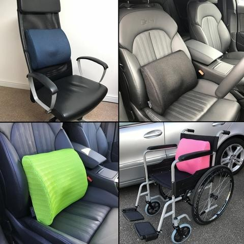 Different ways you can use a support cushion or lumbar support pillow