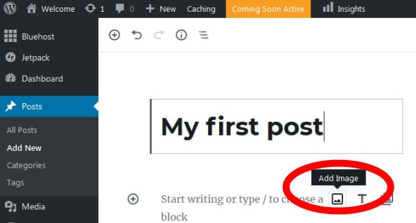 Create Your Blog Post