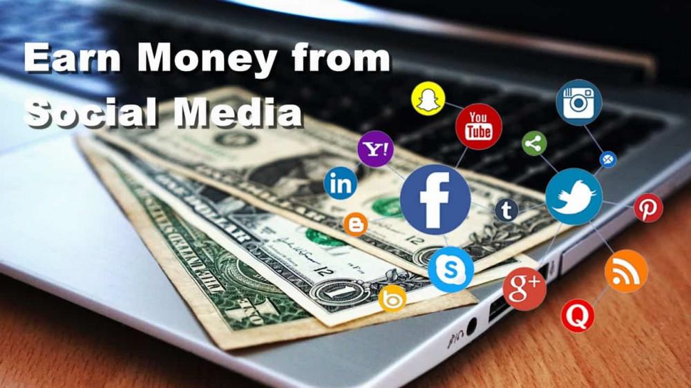 Make money through social media
