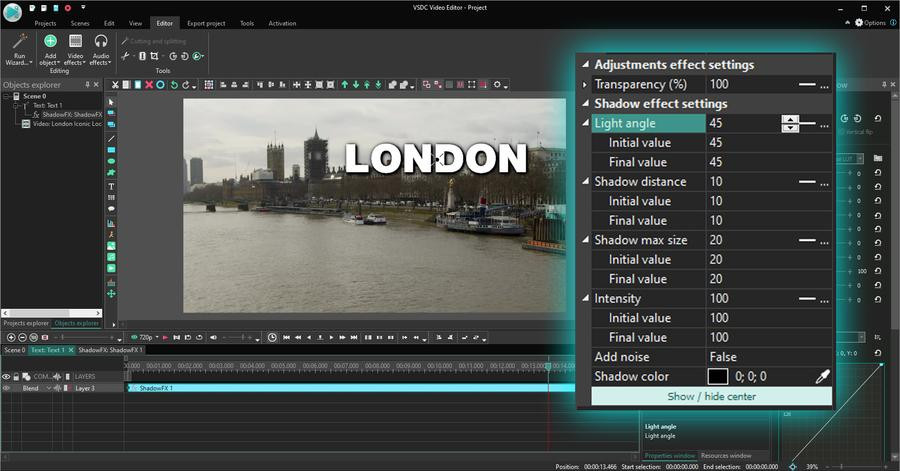 Insert Your Script Into The Video Using Text Effects