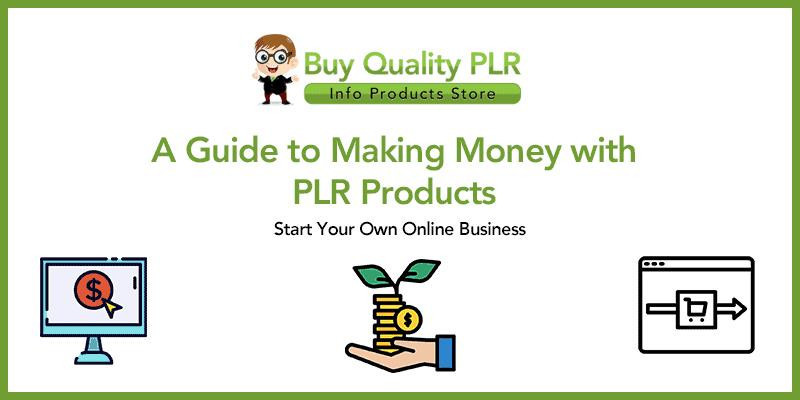 How Can You Make Money With PLR?