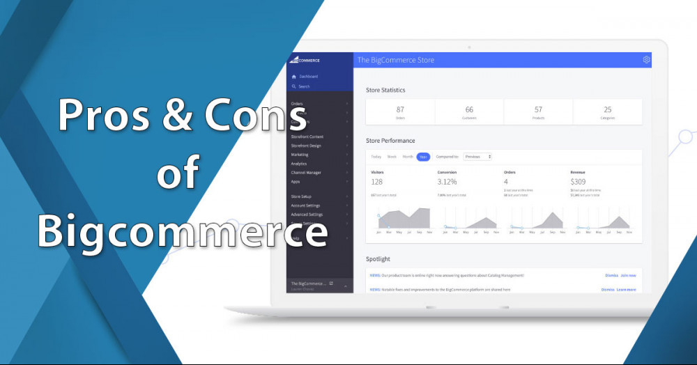 Pros And Cons of Bigcommerce
