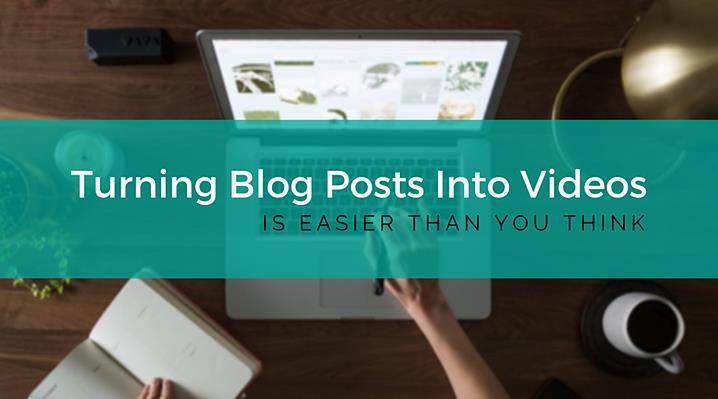 Advantages Of Converting Blog Posts Into YouTube Videos