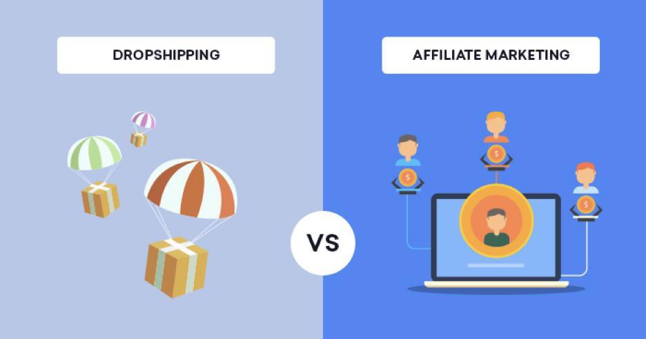 Affiliate Marketing vs Dropshipping