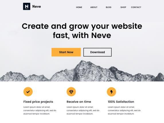 Neve WooCommerce Theme