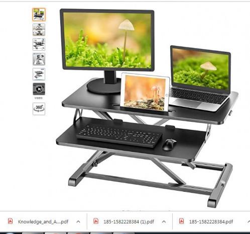 IMLIB Standing Desk Converter