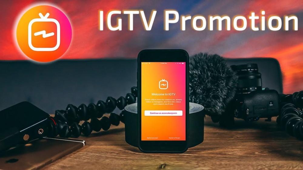 Promoting IGTV