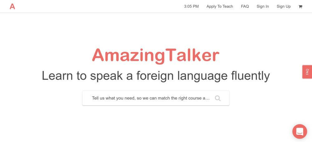 Amazing Talker