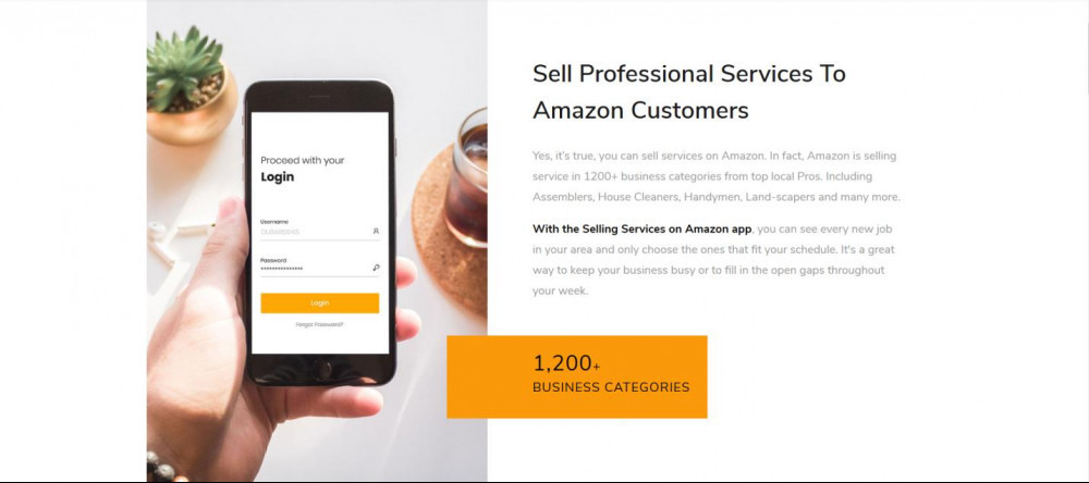 Sell Your Professional Services On Amazon