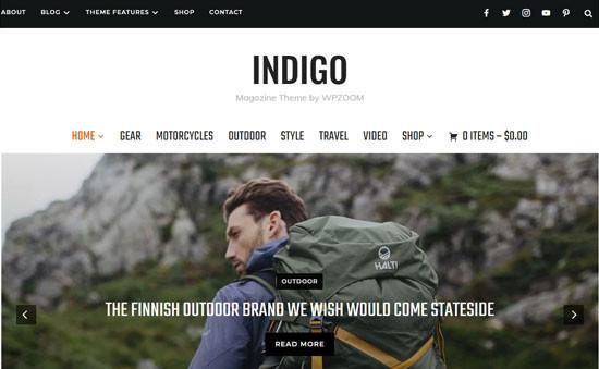 Indigo WooCommerce Theme