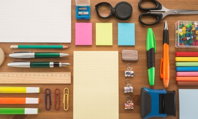 Types Of Office Supplies