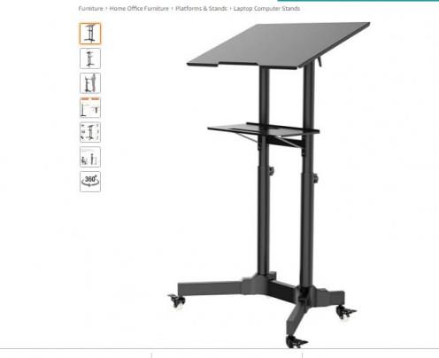 BONTEC Mobile Standing Desk