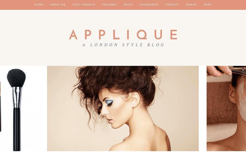 Pick A Beauty Blog Theme