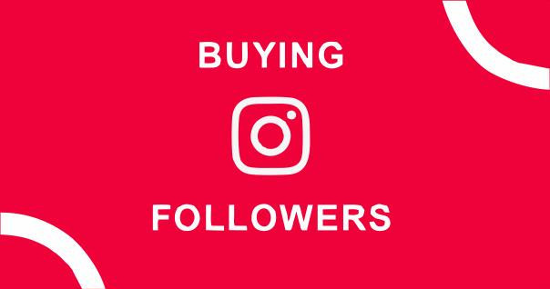 Buying Followers? NOT Recommended