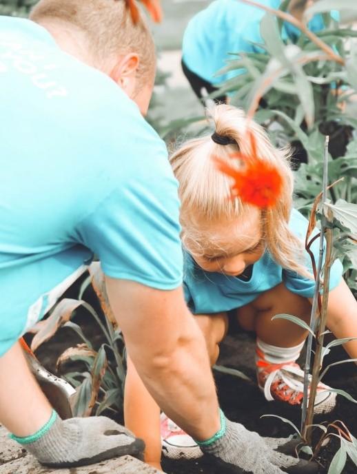 stress gardening