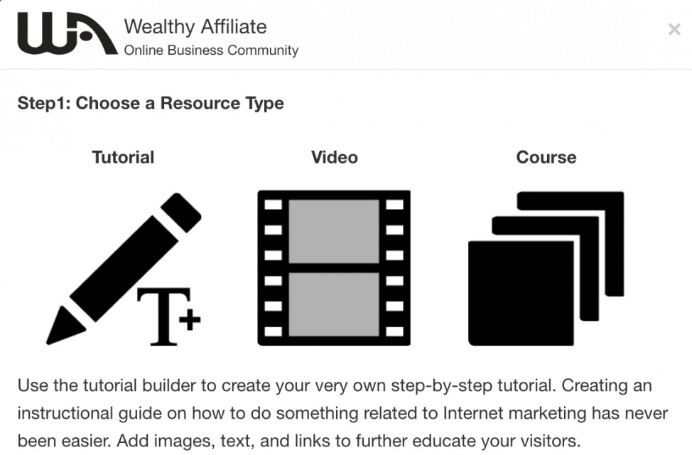 Help Wealthy Affiliate Members by creating your own training