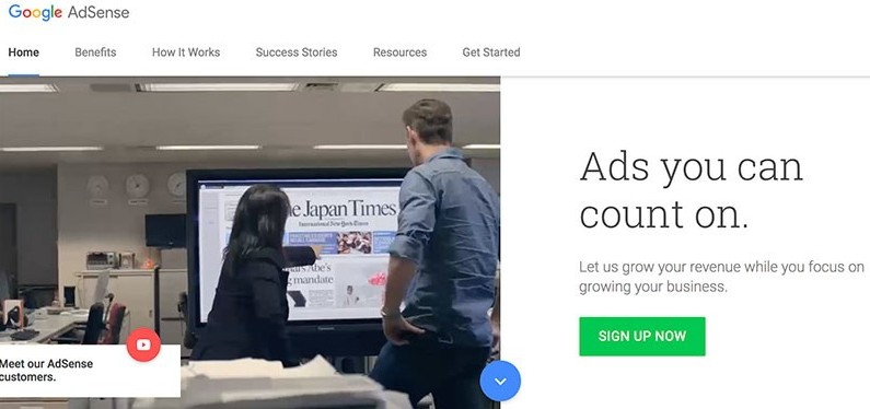 make money with Google AdSense ads on your website